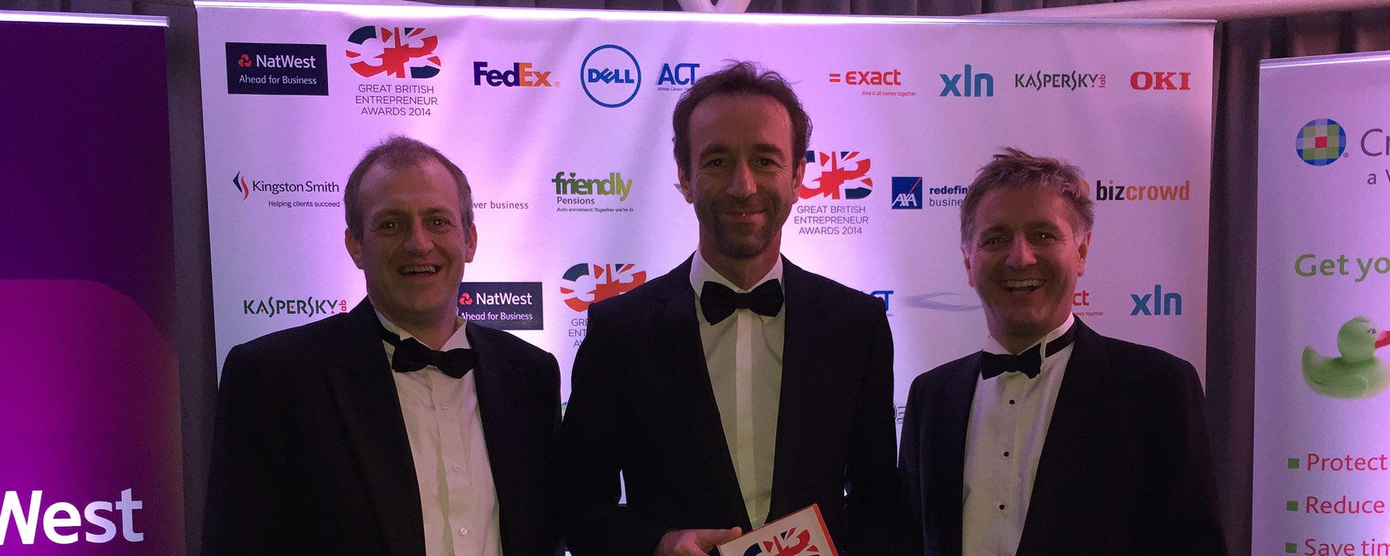 Innasol Wins Silver at the Great British Entrepreneur Awards